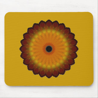 Autumn Flower Mouse Pad