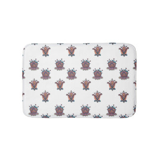 Autumn Flowers Bathroom Mat