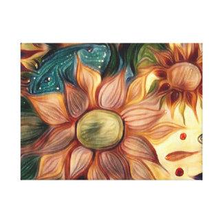 Autumn Flowers Canvas Print