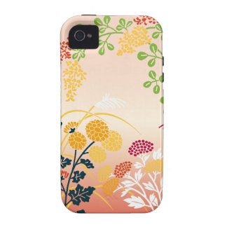 Autumn flowers iPhone 4/4S cover