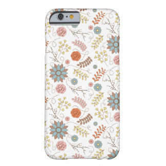 Autumn Flowers Case Barely There iPhone 6 Case