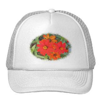 Autumn Flowers Trucker Hats