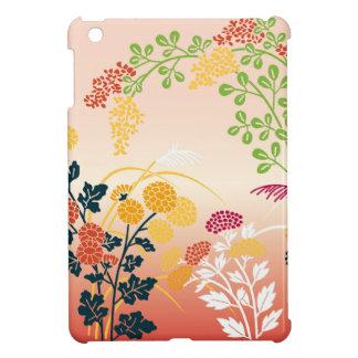 Autumn flowers case for the iPad mini