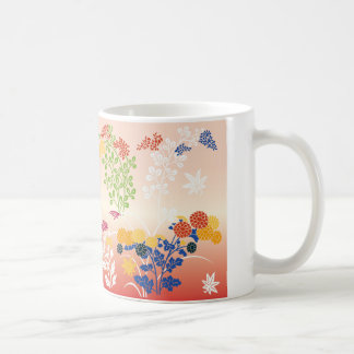 Autumn flowers mug