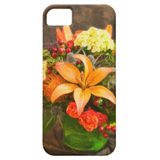 Autumn Flowers Of Roses & Lilies 5S iPhone Case