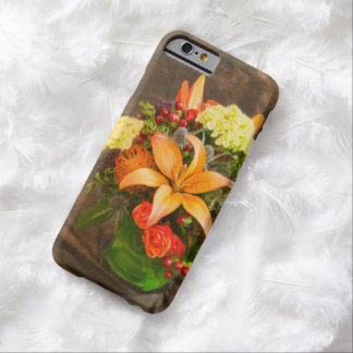 Autumn Flowers Of Roses & Tiger Lilies iPhone Case Barely There iPhone 6 Case