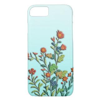 Autumn flowers wild chrysanthemum iPhone 8/7 case