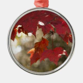 Autumn Foliage Christmas Ornament