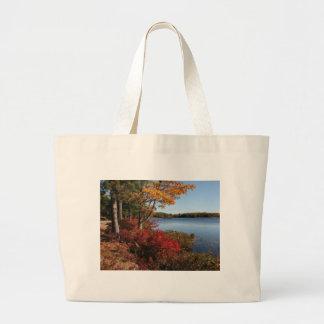 Autumn Foliage Splendor Forest Lake Destiny Bag