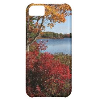Autumn Foliage Splendor Forest Lake Destiny Case For iPhone 5C