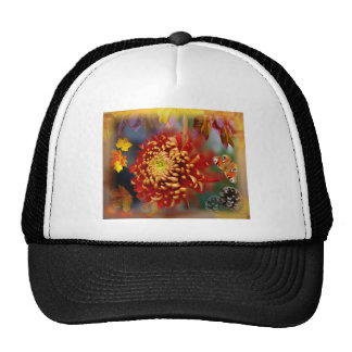 Autumn Foliage Splendor Forest Lake Destiny Trucker Hats