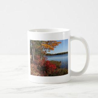Autumn Foliage Splendor Forest Lake Destiny Mugs