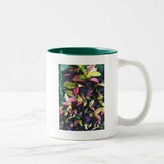 Autumn Foliage Two-Tone Coffee Mug