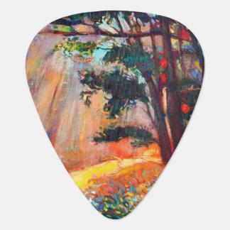 Autumn Forest 4 Guitar Pick