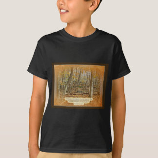 Autumn Forest George Washington Carver Quotation T-Shirt