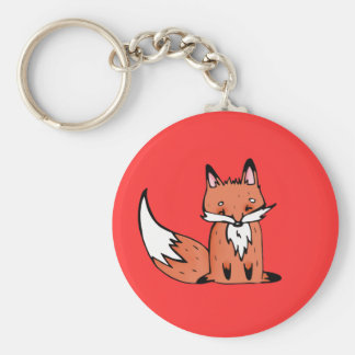 Autumn fox key ring