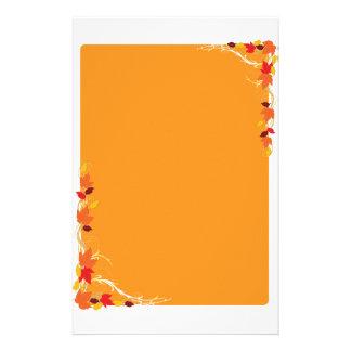 Autumn Frame Customized Stationery