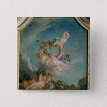 Autumn, from a series of the Four Seasons 15 Cm Square Badge