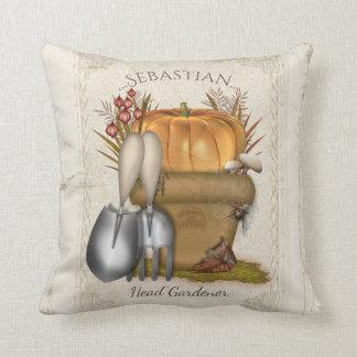 Autumn Gardener Cushion