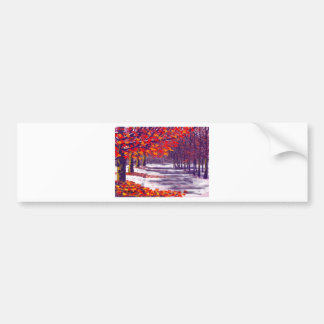 Autumn Glory Bumper Sticker