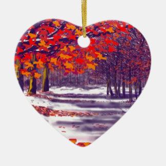 Autumn Glory Christmas Ornament