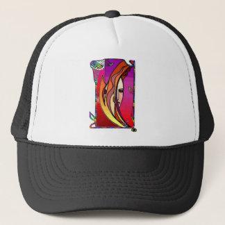 Autumn goddess trucker hat