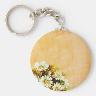 Autumn Gold Daisies Keychains