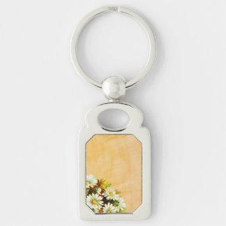Autumn Gold Daisies Keychain