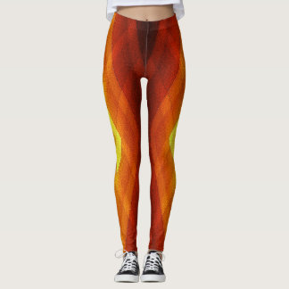 AUTUMN GOLD LEGGINGS