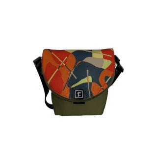 Autumn Gold Messenger Bag