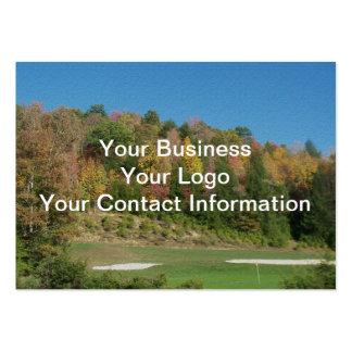 Autumn Golf Course Business Card
