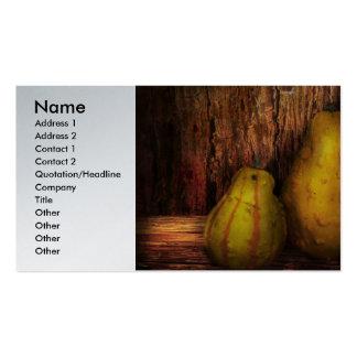 Autumn - Gourd - A pair of squash Business Card Template