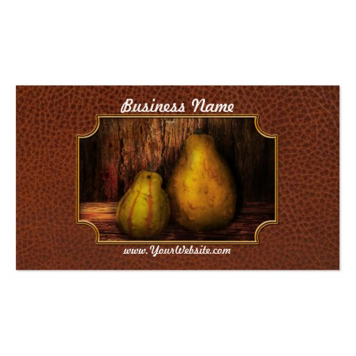 Autumn - Gourd - A pair of squash  Business Cards