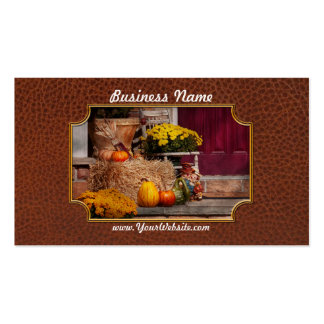 Autumn - Gourd - Autumn Preparations Pack Of Standard Business Cards