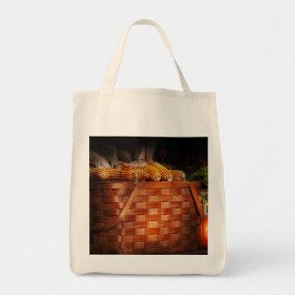 Autumn - Gourd - Fresh corn Tote Bags