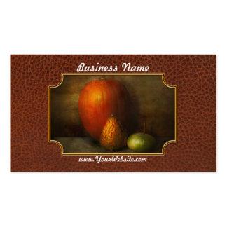 Autumn - Gourd - Melon family Business Cards