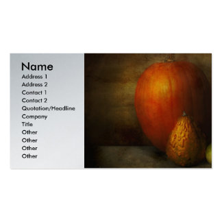 Autumn - Gourd - Melon family Pack Of Standard Business Cards