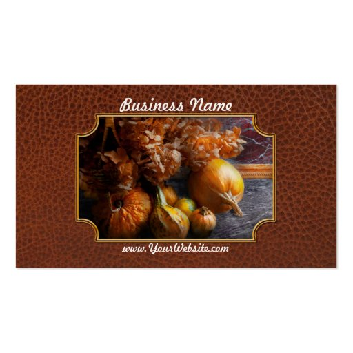 Autumn - Gourd - Still life with Gourds Business Cards
