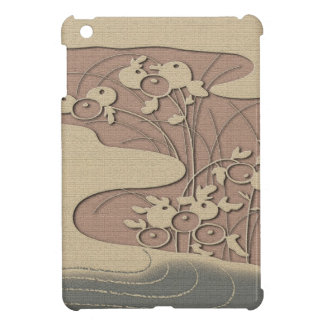 Autumn grasses by the river iPad mini case