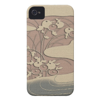Autumn grasses by the river iPhone 4 cover