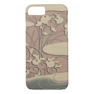 Autumn grasses by the river iPhone 8/7 case
