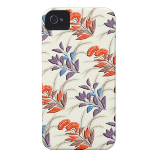 Autumn grasses japanese pattern iPhone 4 cases