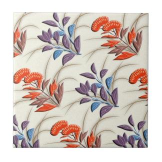 Autumn grasses japanese pattern tile