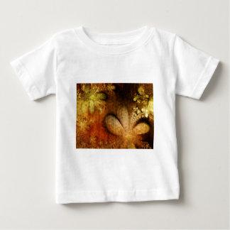 Autumn Grunge Floral Orange Yellow T-shirts