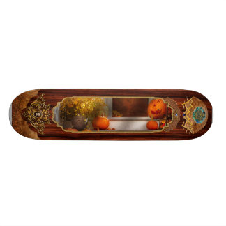 Autumn - Halloween - We re all happy to see you Skate Board Deck