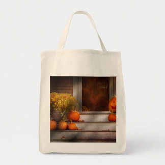 Autumn - Halloween - We're all happy to see you Canvas Bags