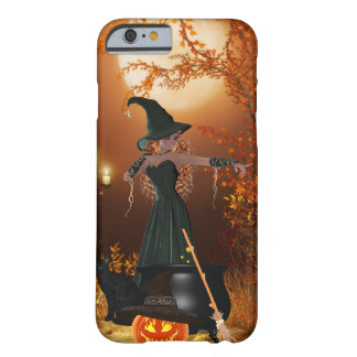 Autumn Halloween Witch Barely There iPhone 6 Case