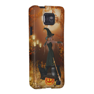 Autumn Halloween Witch Galaxy S2 Covers