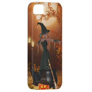 Autumn Halloween Witch iPhone 5 Cover