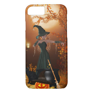 Autumn Halloween Witch iPhone 7 Case